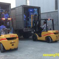 Xe nâng 3 tấn được sử dụng nhiều nhất