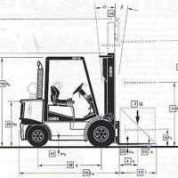 Kích thước xe nâng điện 1.5 tấn có ý nghĩa quan trọng với thiết kế kho hàng mới