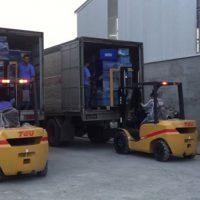 Thuê xe nâng 10 tấn Hà Nội